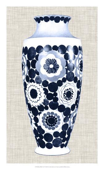 Blue & White Vase V-Unknown-Giclee Print