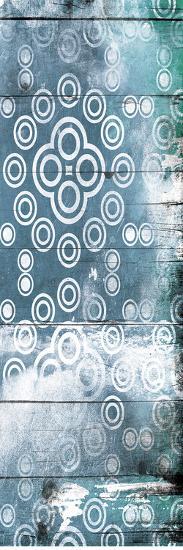 Blue Wood Pattern Mate-Jace Grey-Art Print