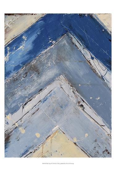 Blue Zag I-Erin Ashley-Art Print