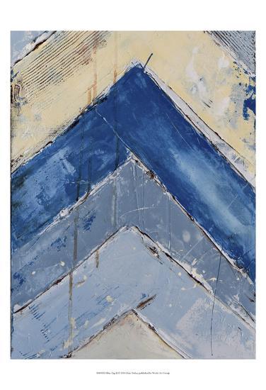 Blue Zag II-Erin Ashley-Art Print