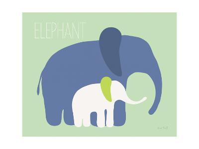 Blue Zoo III-Kris Ruff-Art Print