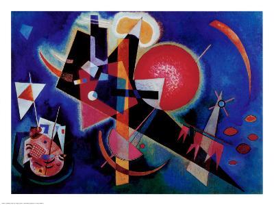 Blue-Wassily Kandinsky-Art Print