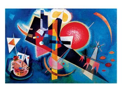 Blue-Wassily Kandinsky-Premium Giclee Print