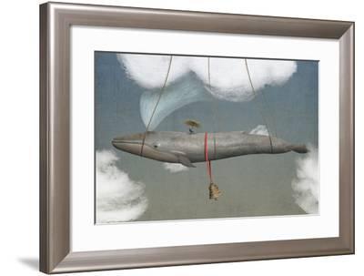 Blue-Greg Noblin-Framed Art Print