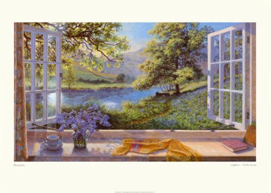 Bluebells-Stephen Darbishire-Art Print