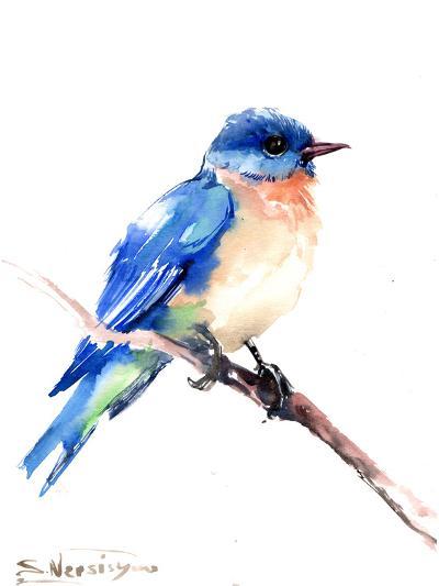 Bluebird 2-Suren Nersisyan-Art Print