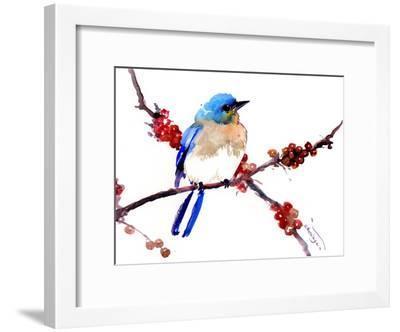 Bluebird 5-Suren Nersisyan-Framed Art Print