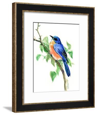 Bluebird 7-Suren Nersisyan-Framed Art Print