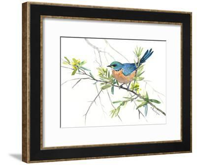 Bluebird 8-Suren Nersisyan-Framed Art Print