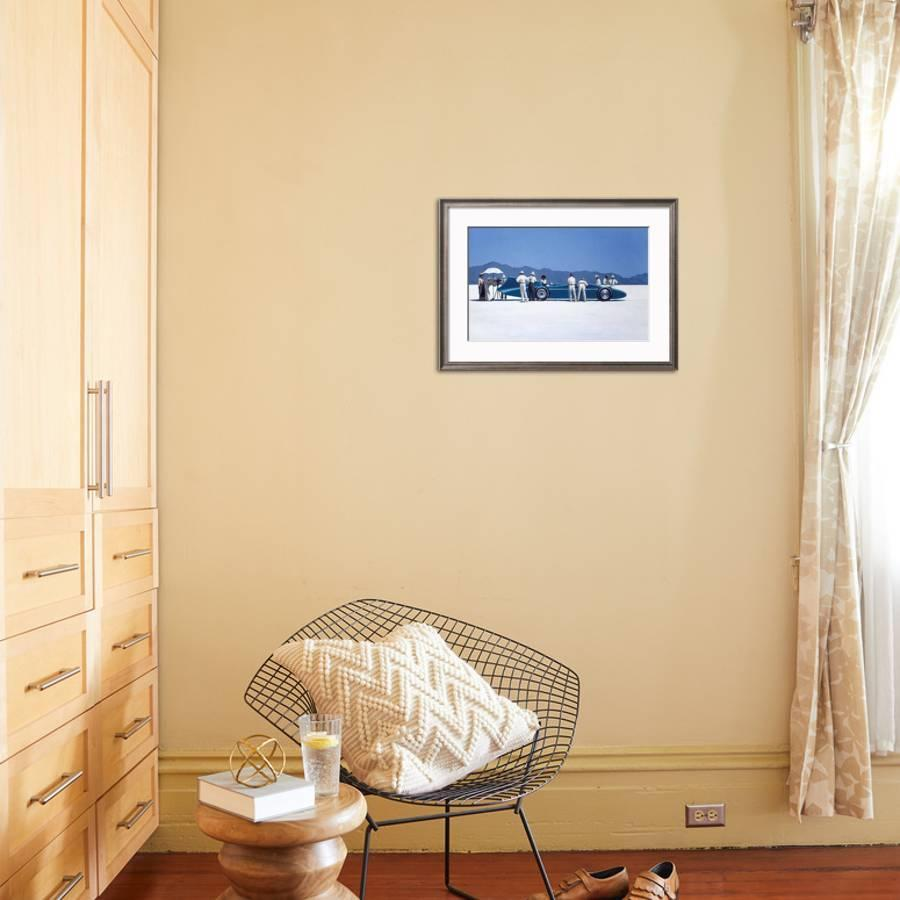 Bluebird at Bonneville Framed Art Print by Jack Vettriano | Art.com