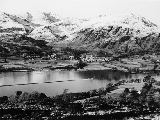 Bluebird K7 on Coniston Water, Cumbria, Possibly Christmas Day, 1966--Photographic Print