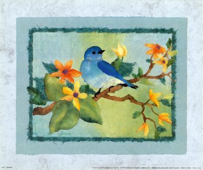 Bluebird-Linn Done-Art Print