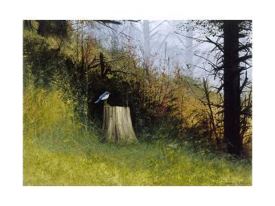 Bluebird-Miguel Dominguez-Premium Giclee Print