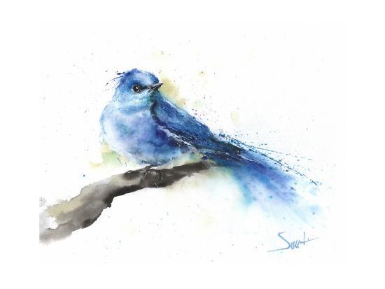 Bluebird-Eric Sweet-Art Print