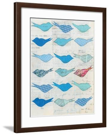 Bluebirds-Courtney Prahl-Framed Art Print