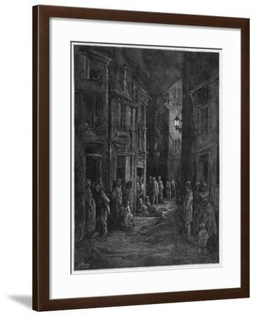 Bluegase-field, Illustration from 'Londres' by Louis Enault-Gustave Doré-Framed Giclee Print