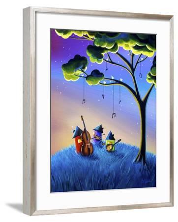 Bluegrass Nights-Cindy Thornton-Framed Giclee Print