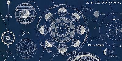 Blueprint Astronomy-Sue Schlabach-Art Print