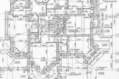 Blueprint-haveseen-Art Print