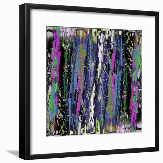 Blues And Purples-Ruth Palmer-Framed Art Print