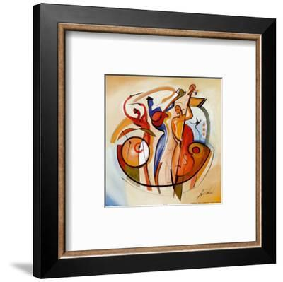 Blues Club IV-Alfred Gockel-Framed Art Print