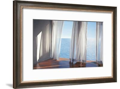 Blues Come Through-Alice Dalton Brown-Framed Art Print