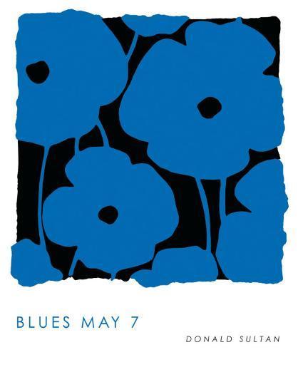 Blues, May 7 2009-Donald Sultan-Art Print