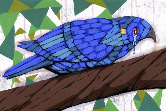 Bluest Bird-Ric Stultz-Giclee Print