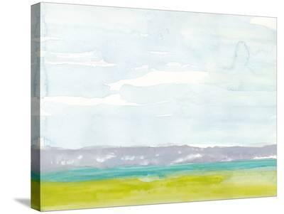 Bluff Beach-Rob Delamater-Stretched Canvas Print
