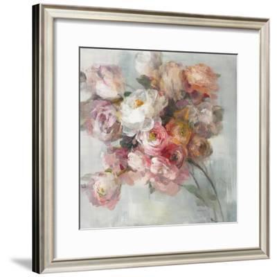 Blush Bouquet-Danhui Nai-Framed Art Print
