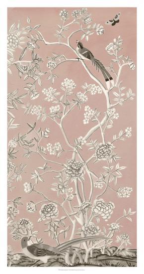 Blush Chinoiserie I-Naomi McCavitt-Giclee Print