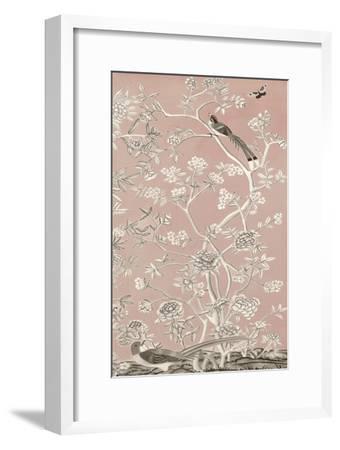 Blush Chinoiserie I-Naomi McCavitt-Framed Art Print