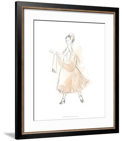 Blush & Grey Fashion IV-June Erica Vess-Framed Art Print