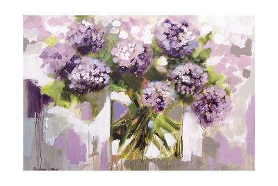 Blush Hydrangea-Amanda J^ Brooks-Art Print