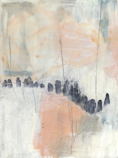 Blush & Navy I-Jennifer Goldberger-Premium Giclee Print