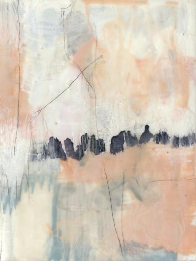 Blush & Navy II-Jennifer Goldberger-Premium Giclee Print