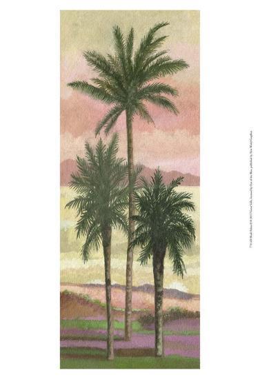 Blush Palms II-Victor Valla-Art Print
