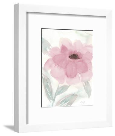 Blush Peony II-Beverly Dyer-Framed Art Print