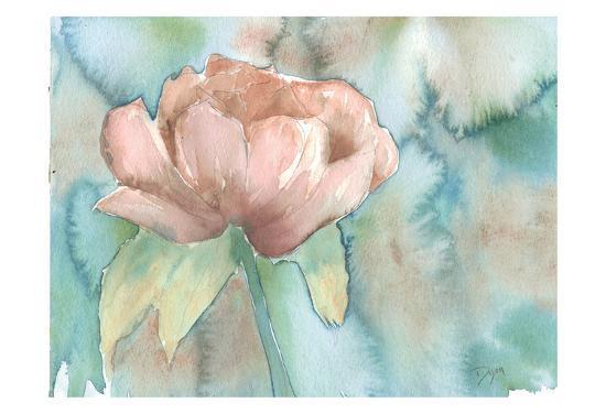 Blush Rose-Beverly Dyer-Art Print