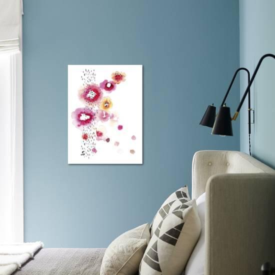 Blush-Kelly Ventura-Art Print displayed on a wall