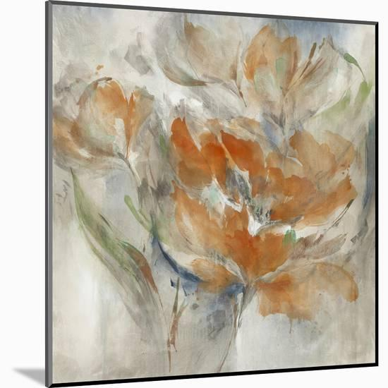 Blushed Bouquet-Leah Rei-Mounted Art Print