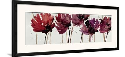Blushing Blooms-Natasha Barnes-Framed Art Print