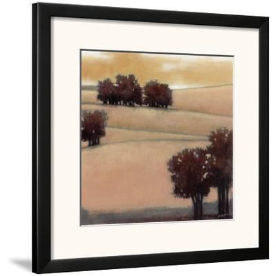 Blushing Hills I-Norman Wyatt Jr^-Framed Art Print