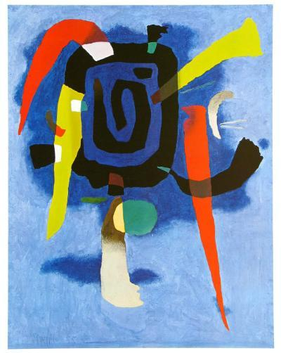 Bluxao V, c.1955-Willi Baumeister-Art Print