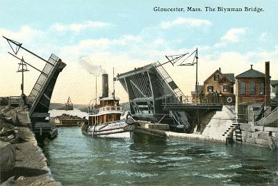 Blynman Bridge, Gloucester--Art Print