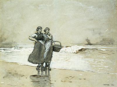 Blyth Sands, 1882-Winslow Homer-Giclee Print