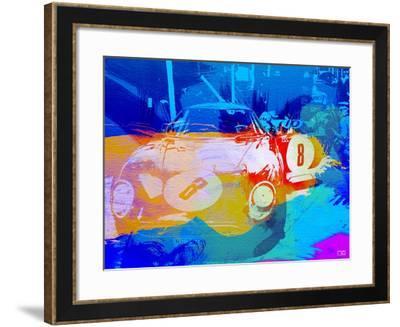 Bmw Before Race Watercolor-NaxArt-Framed Art Print