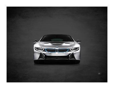 BMW i8-Mark Rogan-Giclee Print