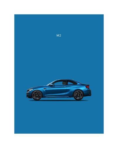 BMW M2-Mark Rogan-Giclee Print
