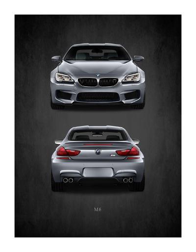 BMW M6-Mark Rogan-Giclee Print